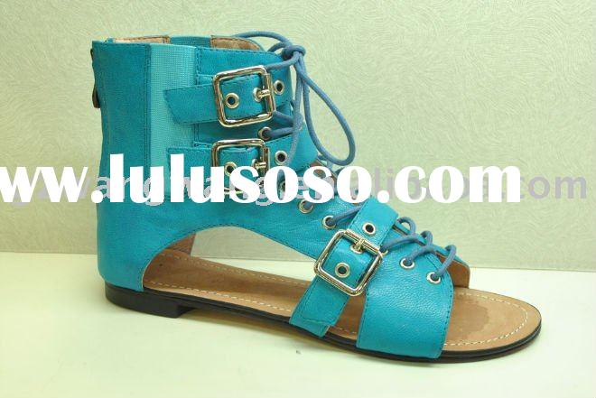 ladies fashion sandal 2012 summer lady sandal