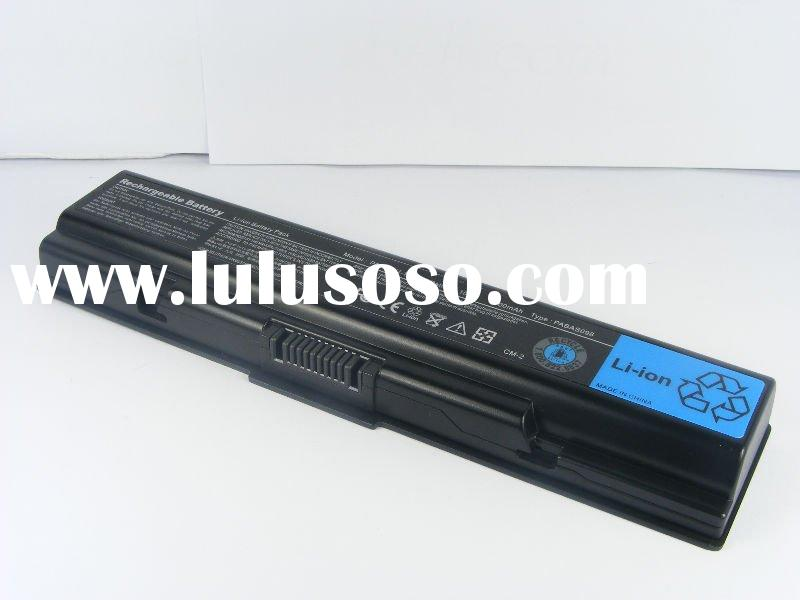 laptop battery/notebook battery for Toshiba Satellite A200 A205 A300 series PA3534U-1BRS