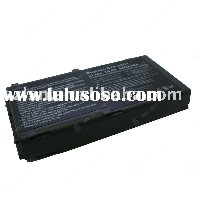 laptop battery , replacement battery, Notebook battery for acer 39D1