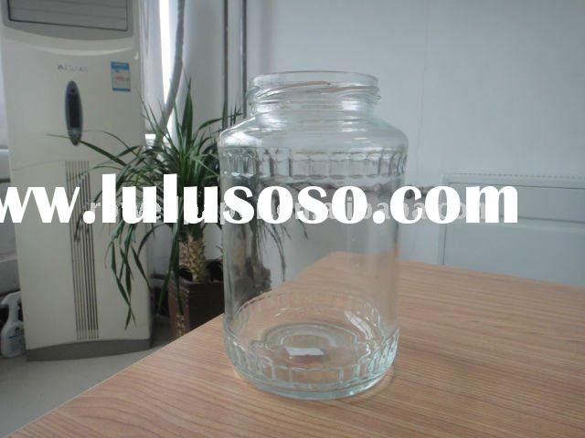 large food glass jar