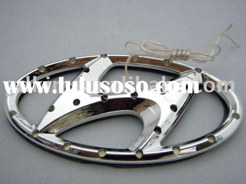 led car badges,emblems,logo for outo accessories