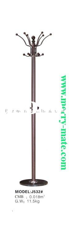 metal coat stand tree with PVC#J532