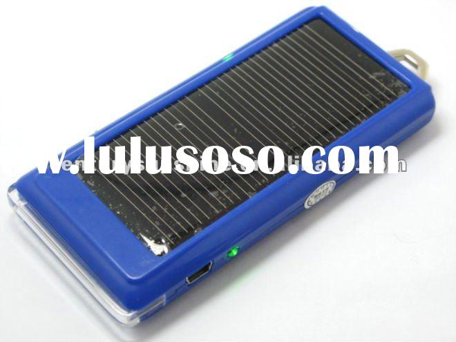 micro usb charger solar cell phone charger