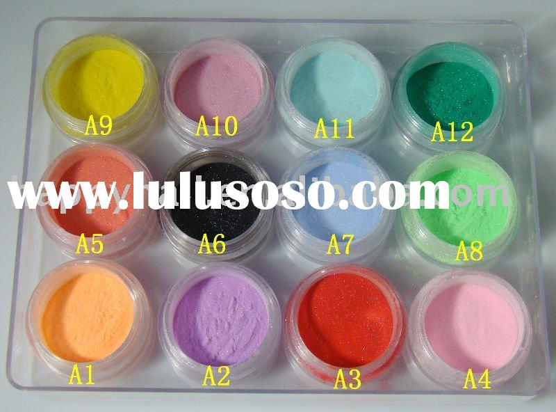 nail art Acrylic Powder 12colors set