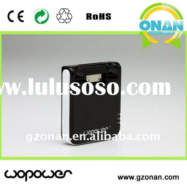 new design iphone portable charger battery with 1800mAh capacity