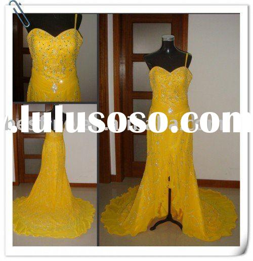our factory design beadings evening dresses OE002