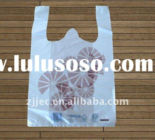 plastic supermarket bags, HDPE shopping bag