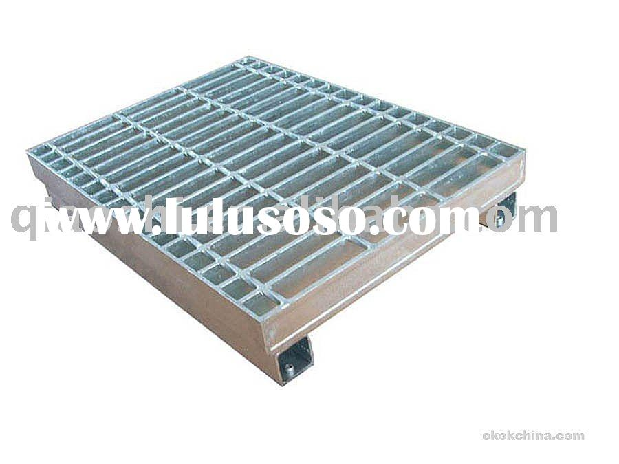 point drainage steel grating