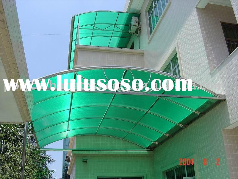 Lexan Roofing Material : Polycarbonate roof sheets covering material sunshade panel