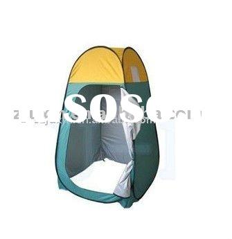 portable camping toilet;pop up tent
