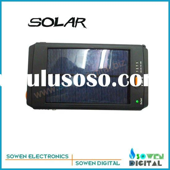 portable solar charger made for computer and cellphone