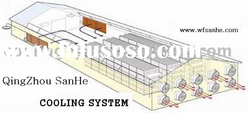 poultry house cooling system