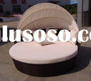 rattan sofa & round sofa & day bed with canopy & oval bed sofa