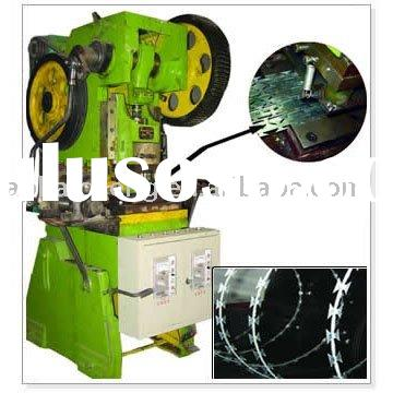 razor wire fence machine