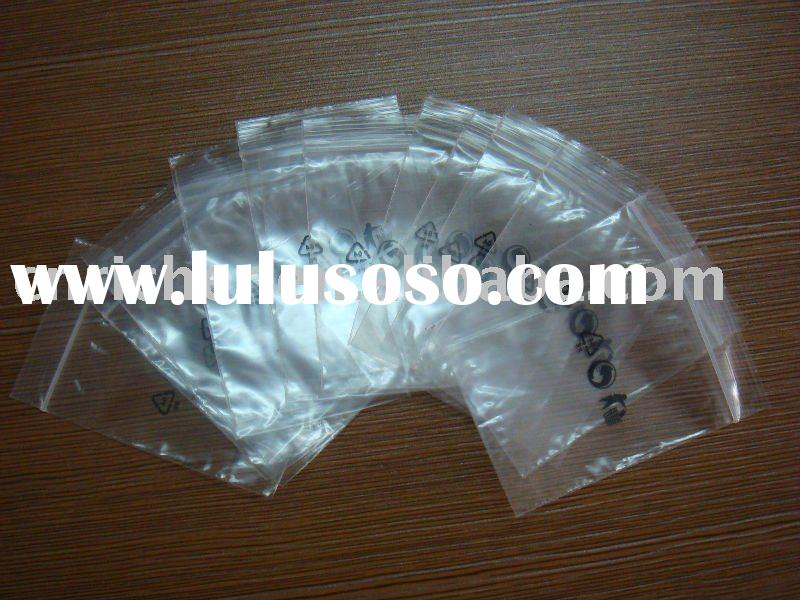 recycle plastic zipper lock bag for pharmacy