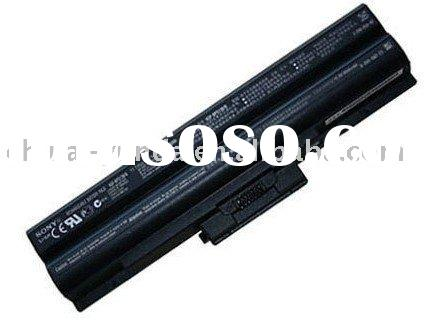 replacement laptop battery for Sony BPS13, 6 cells
