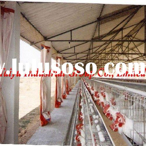 semi-automatic poultry farming equipment