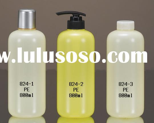 shampoo bottle, cosmetic bottle, lotion bottle