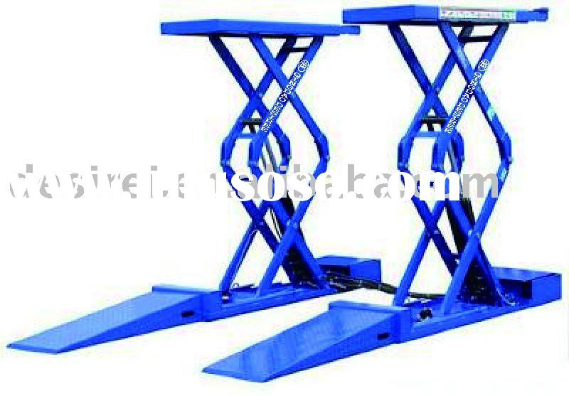 small platform hydraulic scissor automobile lift with CE and ISO9001