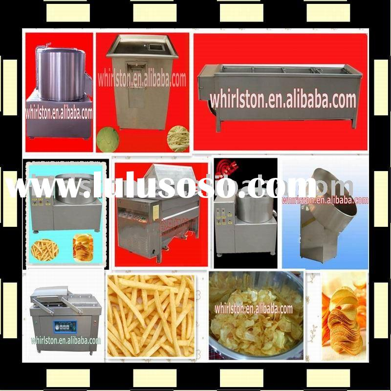 small scale potato chips food production line/potato chips making process/0086-13633868141