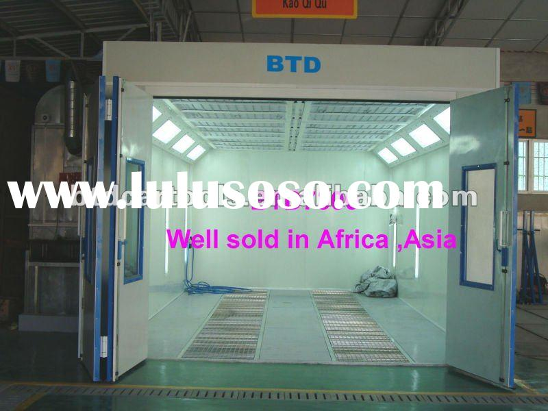 spray booth ,car paint booth ,oven well sold in Africa ,Asia