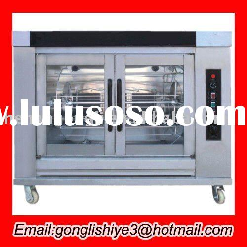 stainless steel electric bread baking oven in kitchen equipments