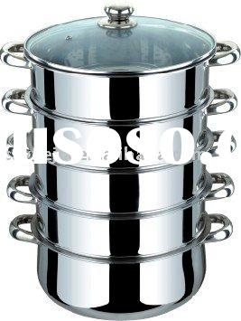 stainless steel three/four/Five layer steamer pot