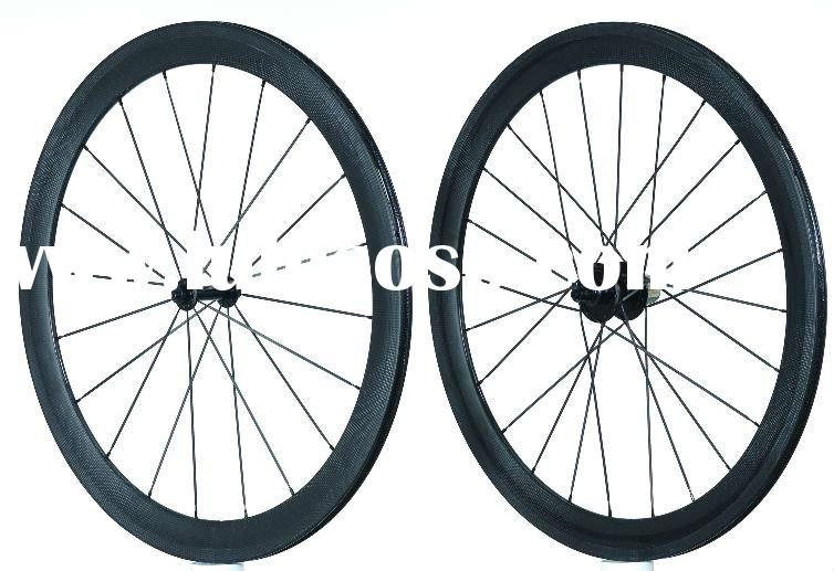 super light weight 50mm clincher bicycle wheel carbon road bike wheelset FSC50-CP
