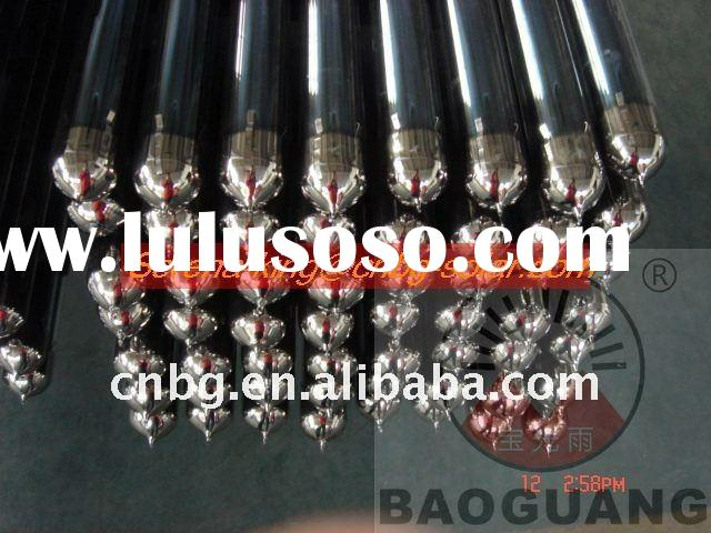 three target solar vacuum tube for solar collector