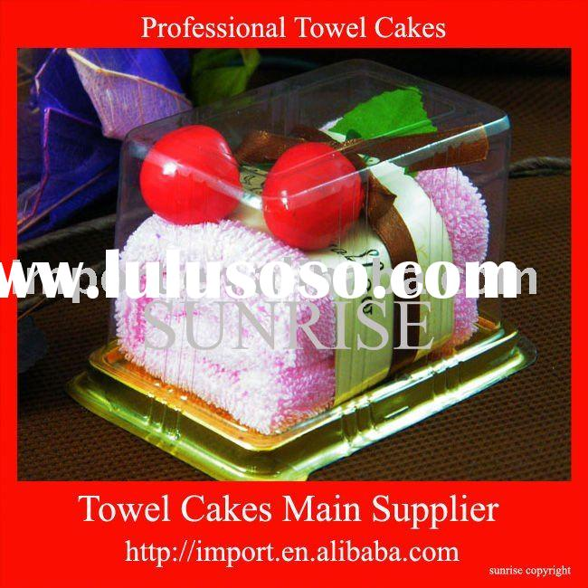 wedding favors/gifts (towel cake)