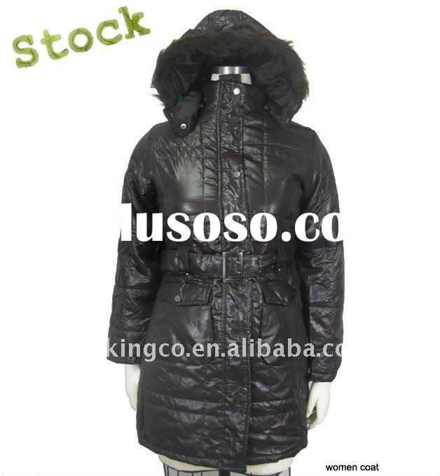 winter clothing stock women coat