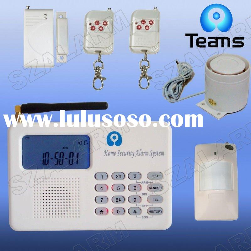 wireless fire detection and alarm system