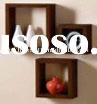 wooden cube shelf ( wall hanging,storage rack,wall display)