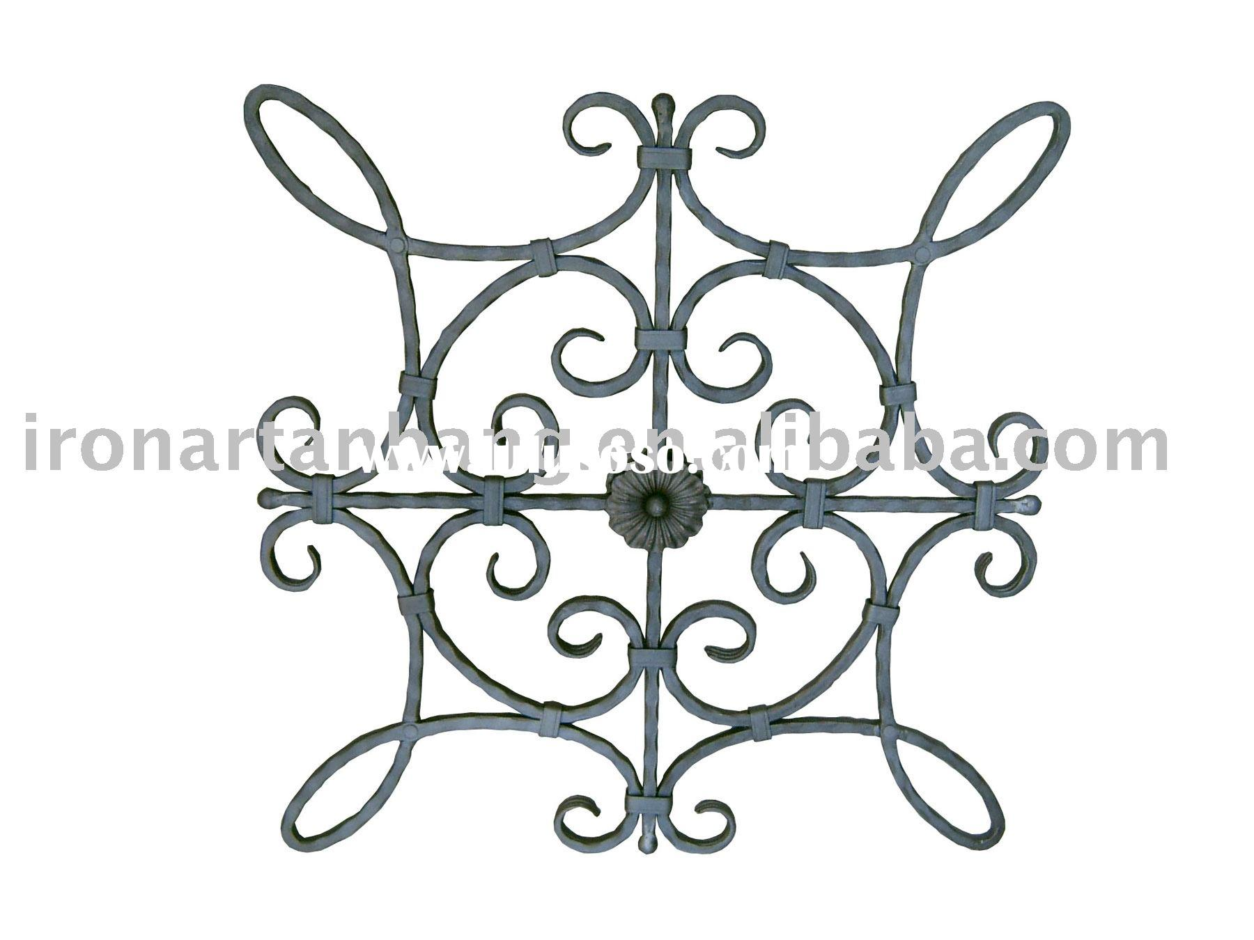 wrought iron parts,forged iron component