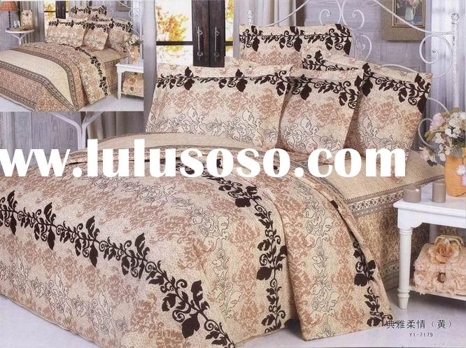 100% cotton Bed Sheet Sets/quilt/4pcs bedding set/sheet set