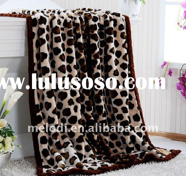 100% polyester blanket for home