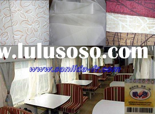 100% polyester inherently Flame Resistant fabric for jacquard seat chair cover
