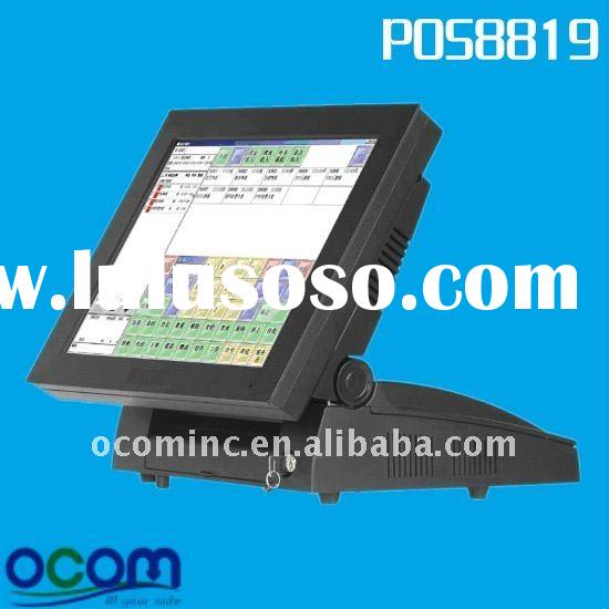 15-Inch All-In-One Touch Screen Point of Sales Terminal Electronic Cash Register (POS8819)