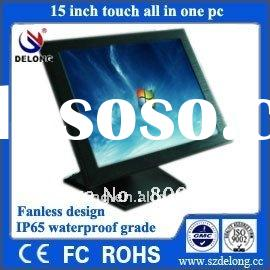 15 inch all in one touch POS computer with wifi, POS system for hotel/restaurant