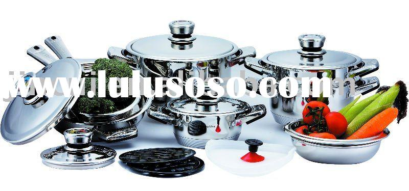 16PCS stainless steel cookware