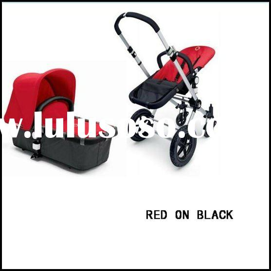 2011 NEW BUGABOO CAMELEON CHARCOAL/RED ON BLACK