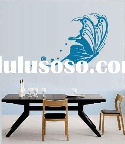 2011 New design for Butterfly Art Mural Wall Decal Wall Stickers Home Decor JF-0504