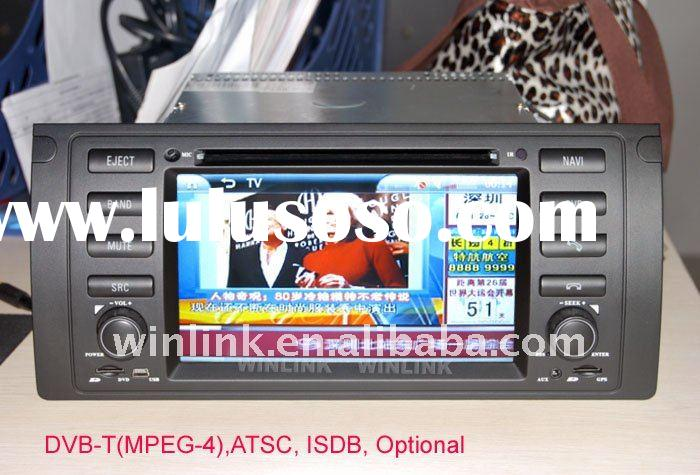 2011 Top Selling Car DVD Player GPS for BMW E39 E53 X5 DVD Bluetooth Radio ,TV
