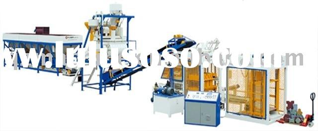 2011 hot seller. QGM fully automatic concrete hollow brick making machine