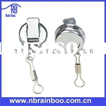 2011 hot selling new lanyards metal retractable id badge holders for promotional gift