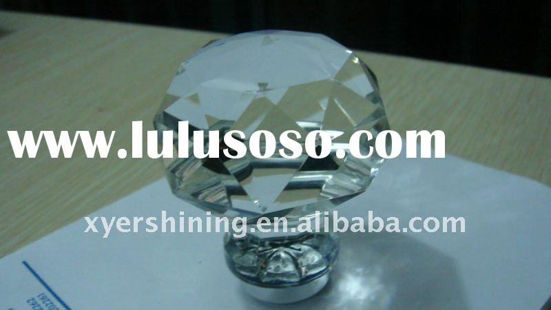 2011 new hot sale high end crystal kitchen cupboard drawer handles knobs