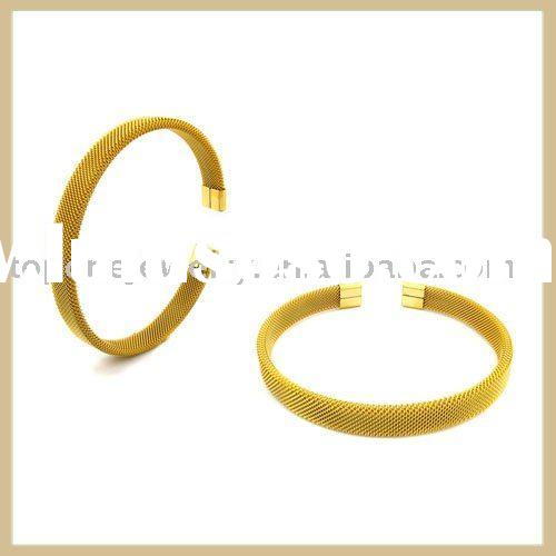 2011new stainless steel mesh bangle