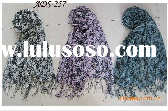 2012 Most hot selling ladies' fashion scarf