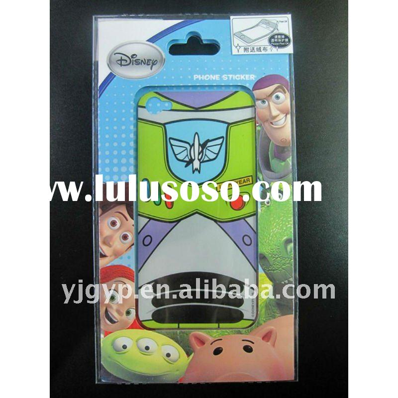 2012 New Arival! High quality!Recyclable Non-toxic Promotional Cars Mobile Phone Stickers