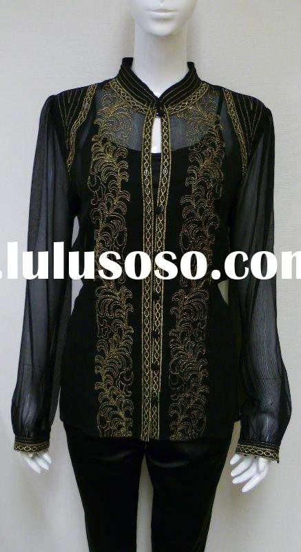 2012 New Fashion Ladies Blouses & Tops